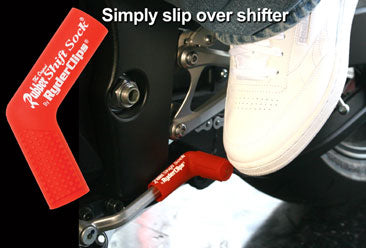 RSS-RED Rubber Shift Sock- Red Lever Covers & Floor Boards Virginia City Motorcycle Company Apparel