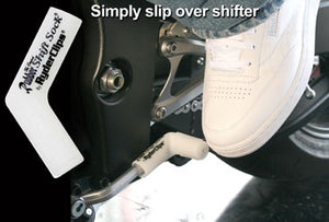 RSS-WHITE Rubber Shift Sock- White Lever Covers & Floor Boards Virginia City Motorcycle Company Apparel