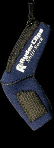 SS-BLUE Neoprene Shift Sock- Blue Lever Covers & Floor Boards Virginia City Motorcycle Company Apparel