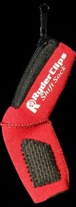 SS-RED Neoprene Shift Sock- Red Lever Covers & Floor Boards Virginia City Motorcycle Company Apparel