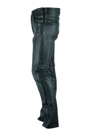 DS450 Men's Deep Pocket Over Pant Chaps Virginia City Motorcycle Company Apparel