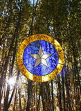 Spiritual Eye Stained Glass 15 inch