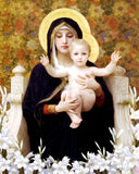 The Virgin of the Lilies photo prints