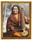 Paramahansa Yogananda with Esraj photo prints