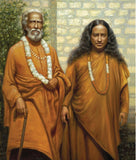 Paramahansa Yogananda and Sri Yukteswar photo prints