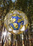 Om Stained Glass 12 inch
