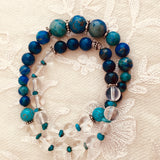 Tranquility Wrap Wrist Mala Prayer Beads