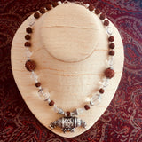 Kavacha Crystal & Rudraksha Necklace