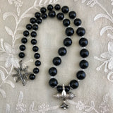 Smriti Black Onyx Kavacha Necklace