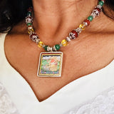 Ganesha Miniature Painted Necklace