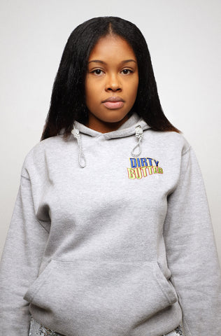 Dirty Butter Hoodie Sweater Good Fortune Grey Toronto Black Business Remix Program