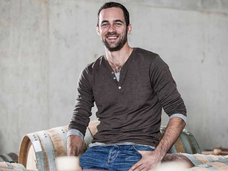 Andi Knauss natural winemaker making natural wine in Swabia, Germany