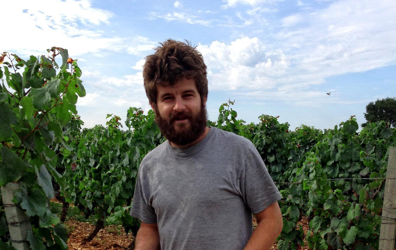 Fabien Jouves winemaker of natural wine and biodynamic wine in Cahors France