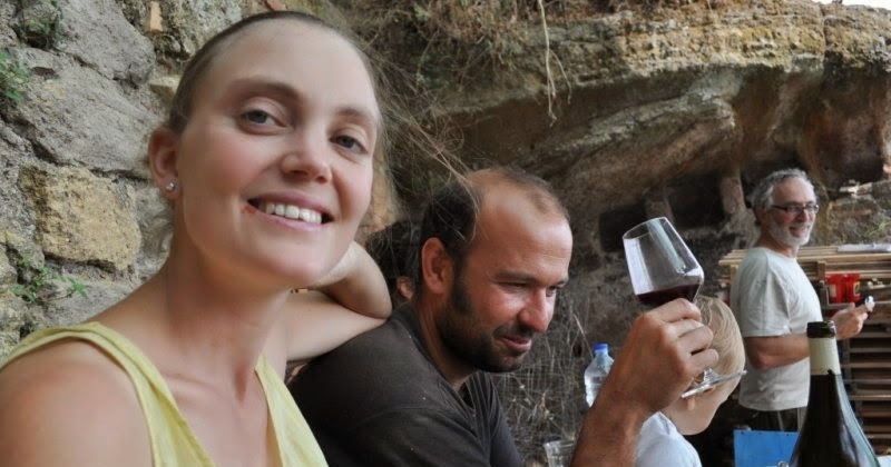 Le Coste di Gradoli natural wine from near Rome, Lazio, Italy