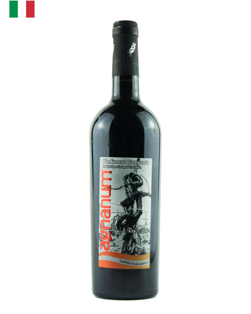Agnanum Piedirosso Sabbia Vulcanica is a red wine from Campania made with grapes from more than 50 year old Piedirosso vines.