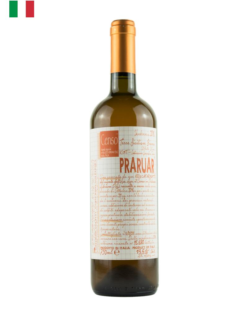 Il Censo Praruar, Catarratto, Orange Wine, Natural Wine, Organic Wine from Sicily, Italy, Primal Wine - primalwine.com