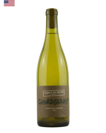 Subject to Change, Coastview Vineyard Chardonnay, Chardonnay Grapes, Natural Wine, Low Sulfites Wine, Primal Wine - primalwine.com