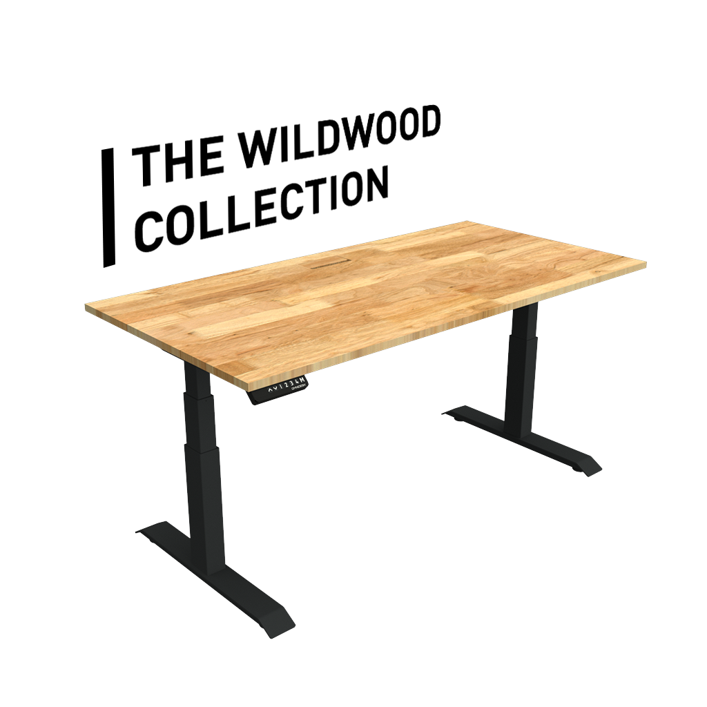 Omnidesk Pro 2020 Wildwood Collection Electric Standing Desk