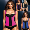 Underbust Latex Sport Girdle Waist Trainer Corset Hourglass Body Shaper