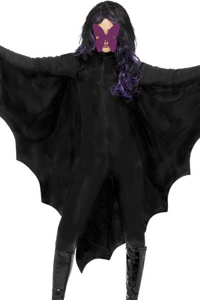 Wearvip Casual Batwing Sleeve Party Performance Costume Jumpsuit