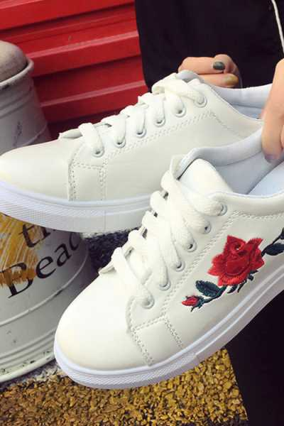 Wearvip Casual Non-slip Rubber Sole Sneakers