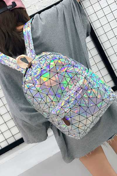 Wearvip Casual Laser Backpack