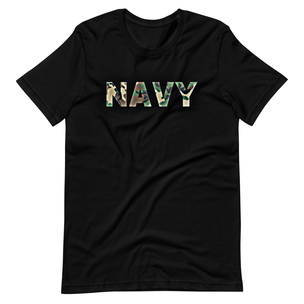 Military apparel, military shirts, patriotic apparel - Army apparel, Marine shirts, Navy shirts, Air Force shirts, Veteran apparel, Patriotic apparel - Navy Camouflage Men's T-Shirt