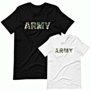Military t-shirts, patriotic apparel, Army, Marine, Navy, Air Force, Veteran - Army Camouflage T-Shirt