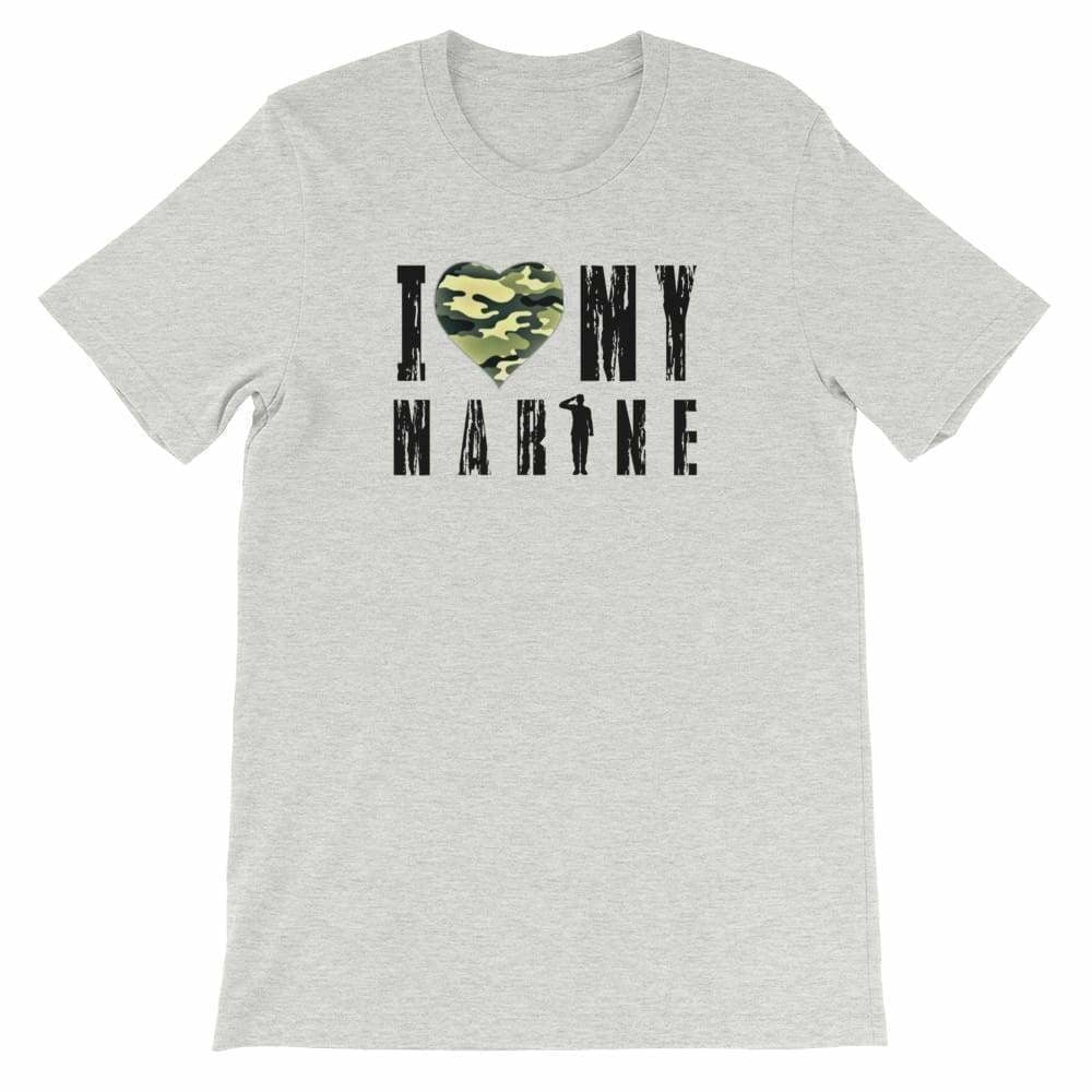 Military apparel, military shirts, patriotic apparel - Army apparel, Marine shirts, Navy shirts, Air Force shirts, Veteran apparel, Patriotic apparel - I Love My Marine Women's T-shirt