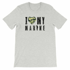 Military t-shirts, patriotic apparel, Army, Marine, Navy, Air Force, Veteran - I Love My Marine T-shirt