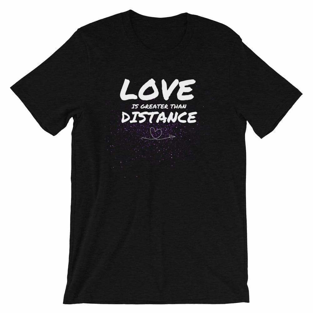 Military apparel, military shirts, patriotic apparel - Army apparel, Marine shirts, Navy shirts, Air Force shirts, Veteran apparel, Patriotic apparel - Love is Greater Than Distance Women's T