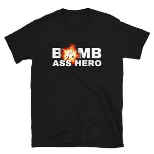 Military apparel, military shirts, patriotic apparel - Army apparel, Marine shirts, Navy shirts, Air Force shirts, Veteran apparel, Patriotic apparel - Bomb Hero Women's T-Shirt