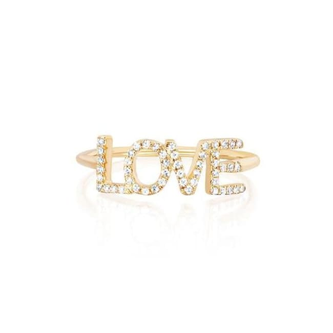Bague LOVE - 54 / or - bagues - La boutique by c.