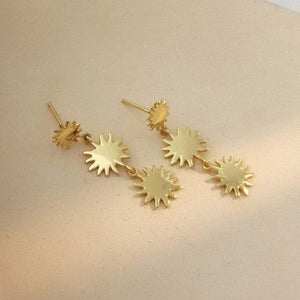 Boucles d'oreilles COME IL SOLE de la COLLECTION BELLA RAGAZZA - boucles d'oreilles - La boutique by c.