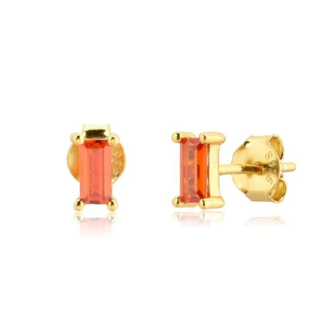Boucles d'oreilles LES MINIS de la COLLECTION ADDICT - Orange - boucles d'oreilles - La boutique by c.