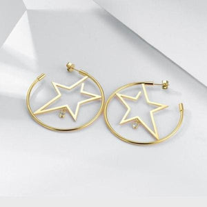 Boucles Doreilles Superstar - Bijoux - La Boutique By C.
