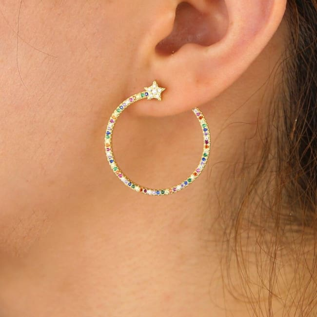 Boucles d'oreilles TIMELESS de la COLLECTION INDISCRETE - boucles d'oreilles - La boutique by c.