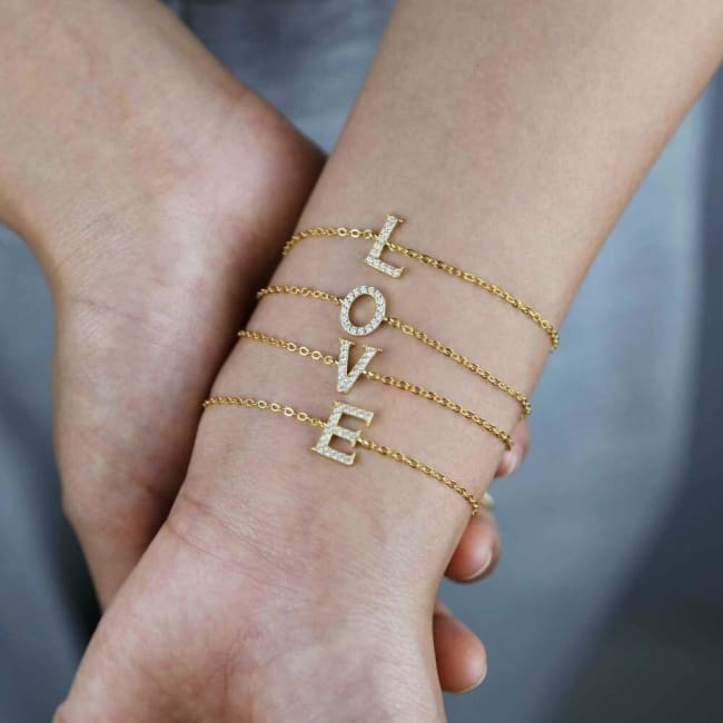 Bracelet ALPHABET de la COLLECTION A-Z - bracelets - La boutique by c.