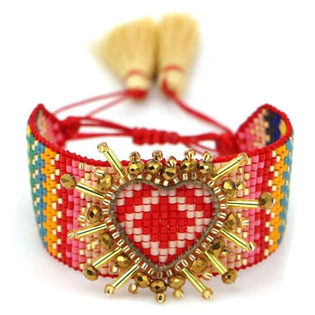 Bracelet AMOUR de la COLLECTION CAPRICE - le hippie chic - bracelets - La boutique by c.