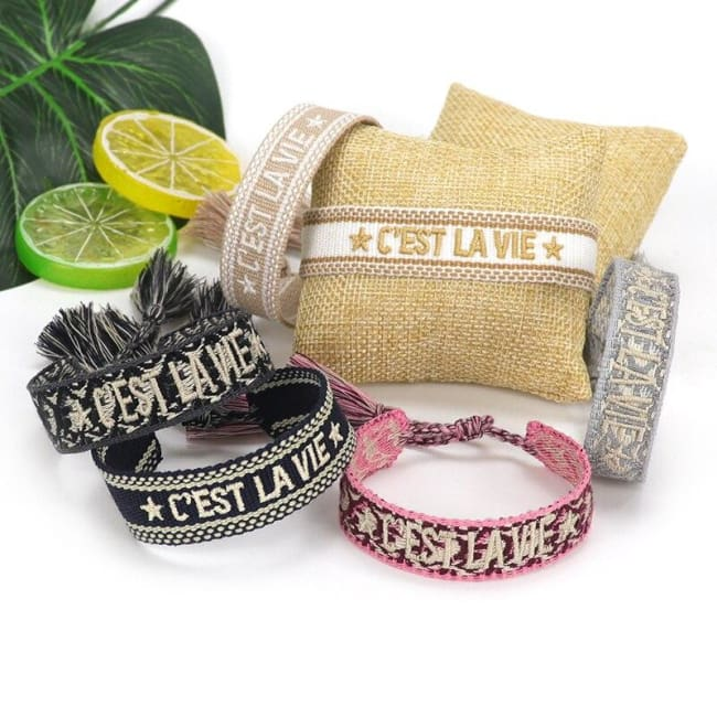 Bracelet C'EST LA VIE de la COLLECTION ANOTHER DAY - bracelets - La boutique by c.