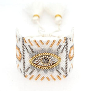 Bracelet CHANCE de la COLLECTION CAPRICE - blanc - bracelets - La boutique by c.