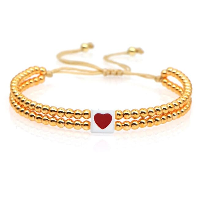 Bracelet COEUR de la COLLECTION SOLEDAD - bracelets - La boutique by c.