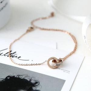 Bracelet de cheville PATIENCE - bracelets - La boutique by c.