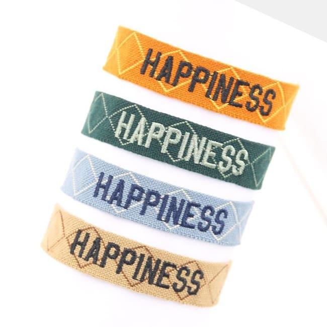 Bracelet HAPPINESS de la COLLECTION ANOTHER STORY - bracelets - La boutique by c.