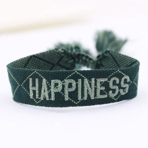 Bracelet HAPPINESS de la COLLECTION ANOTHER STORY - vert - bracelets - La boutique by c.