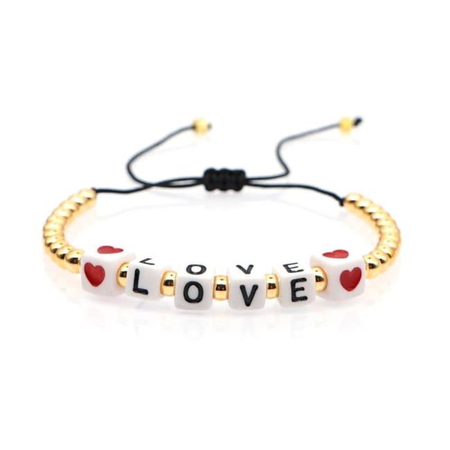 Bracelet LOVE de la COLLECTION SOLEDAD - bracelets - La boutique by c.