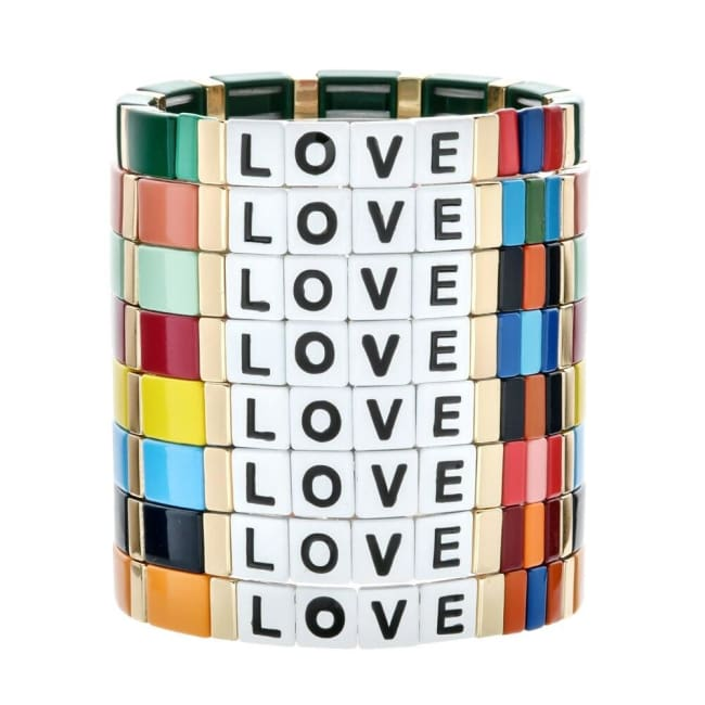 Bracelet LOVE de la COLLECTION ZIGZAG - bracelets - La boutique by c.
