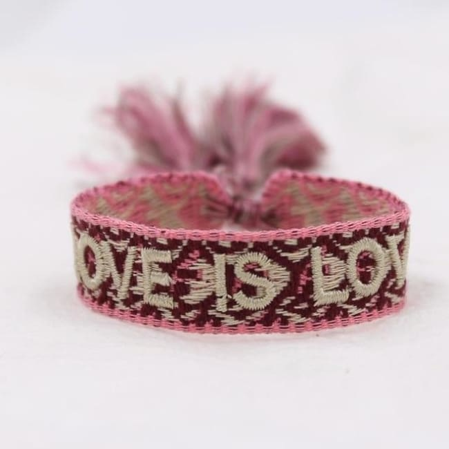 Bracelet LOVE IS LOVE de la COLLECTION ANOTHER STORY - bracelets - La boutique by c.