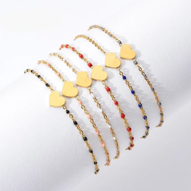 Bracelet MINI COEUR de la COLLECTION EVER - bracelets - La boutique by c.