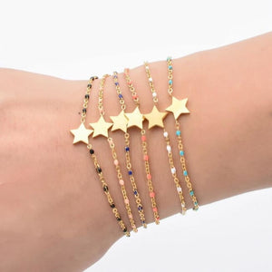 Bracelet MINI ETOILE de la COLLECTION EVER - bracelets - La boutique by c.